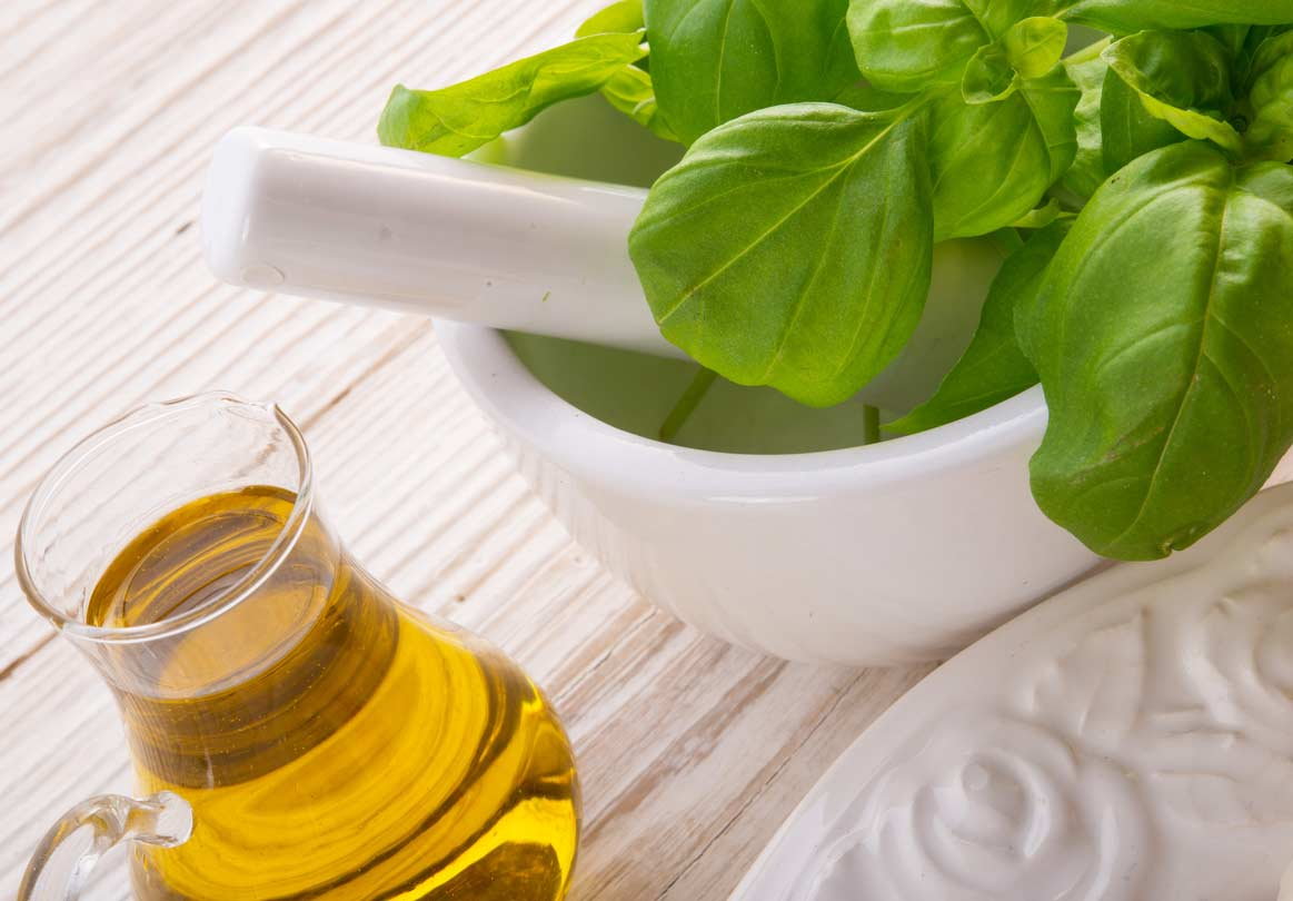 Basil and basil oil may help promote hair regrowth.