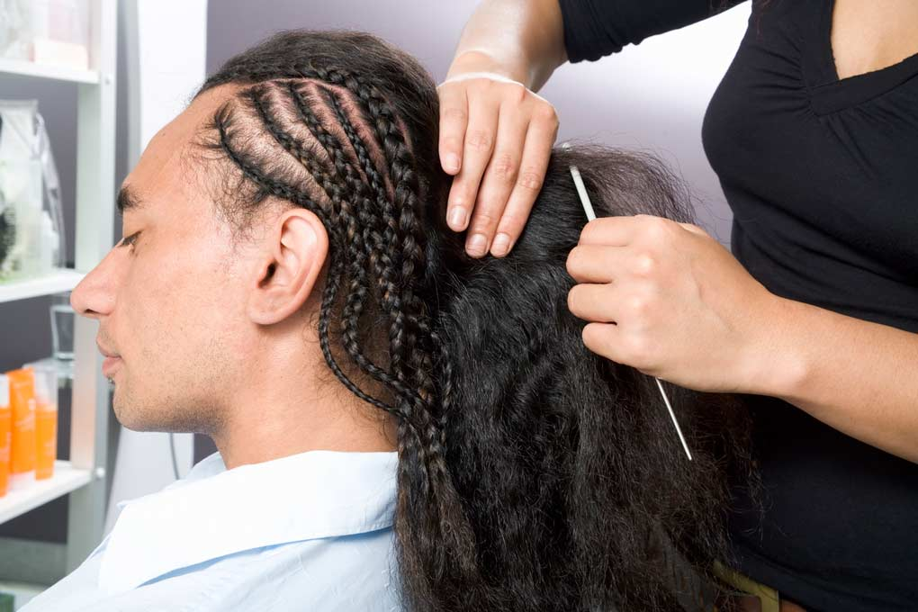 Can hair braiding cause central centrifugal cicatricial alopecia type of hair loss?
