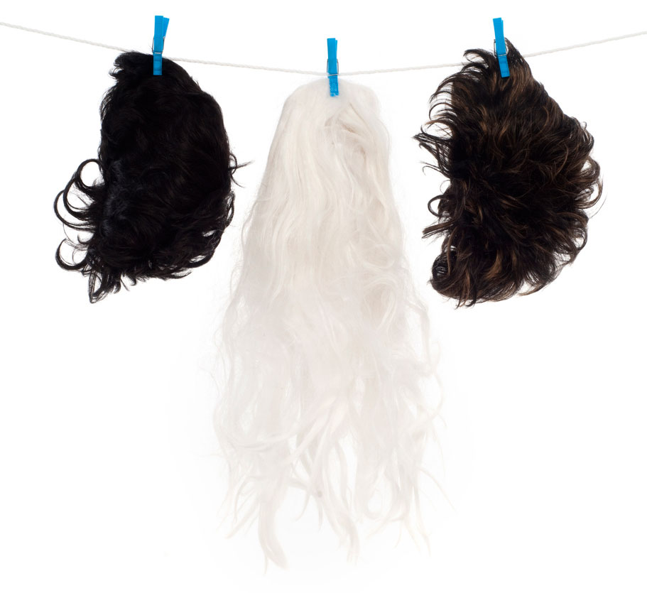 Learn how to wash and style wigs.