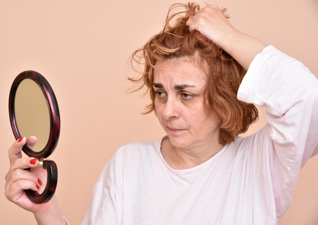 The stress of hair loss can cause negative physical and psychological effects.