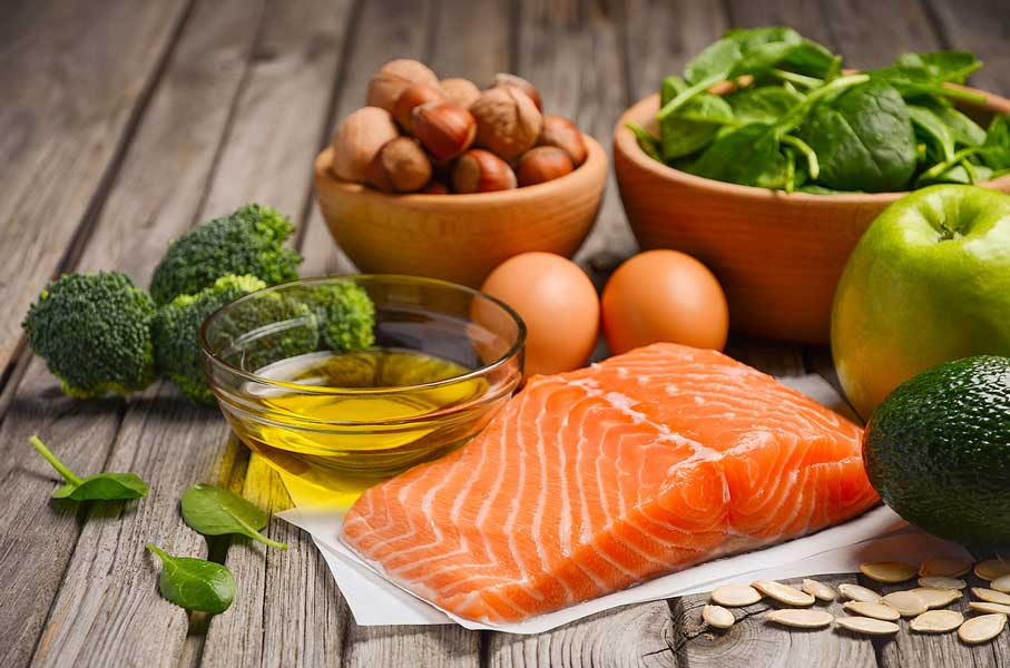 Eggs, fish, eggs, and sunflower seeds are all good sources of pantothenic acid (vitamin B5).