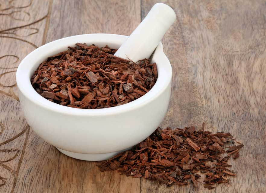 Pygeum tree bark may help with hormone-related hair loss.