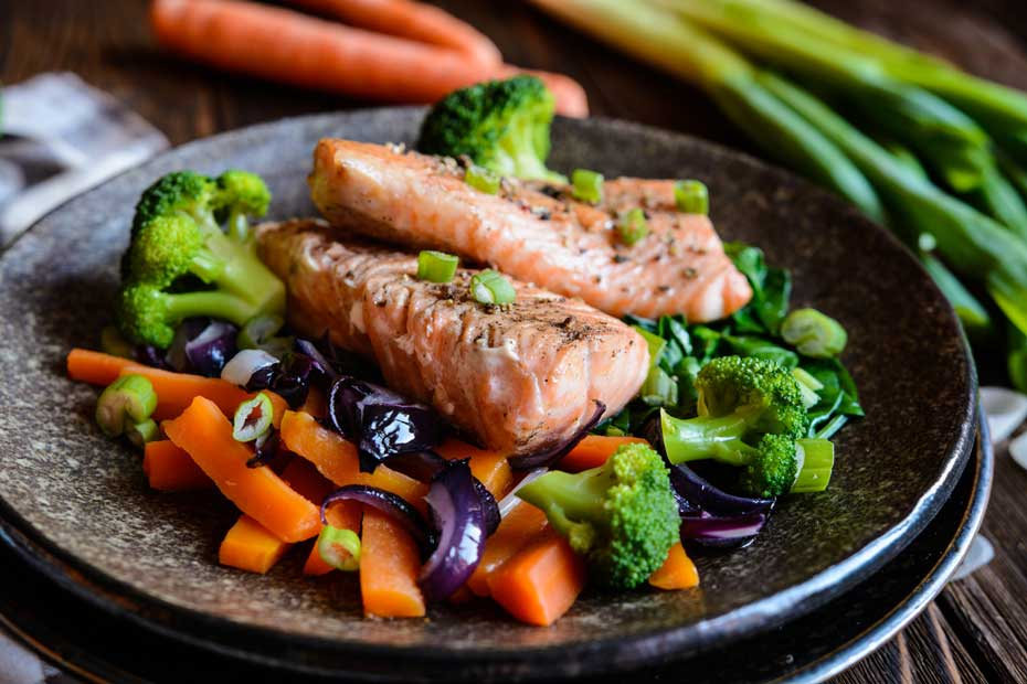 Fish, broccoli, and carrots are all good dietary sources of vitamin A.
