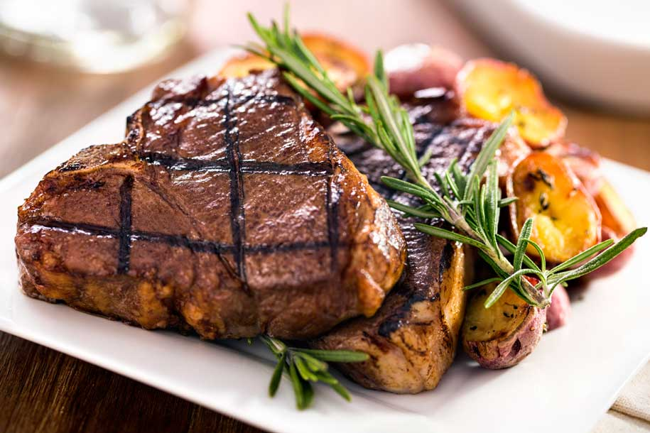 Meat and potatoes are good sources of vitamin B6.
