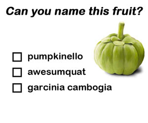 Can you name this fruit?