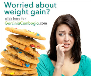 Worried about weight gain?